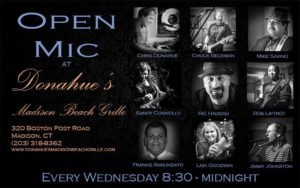 Sandy Open Mic Night