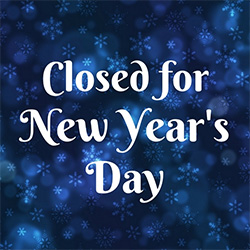 Closed New Year's Day
