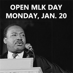 Open MLK Day